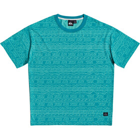 Quiksilver Heritage T-shirt Homme, pagoda blue tonal heritage